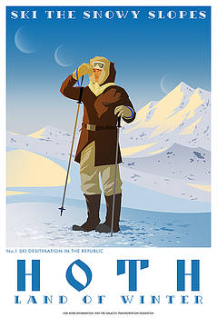 Ski Hoth by Christopher Ables
