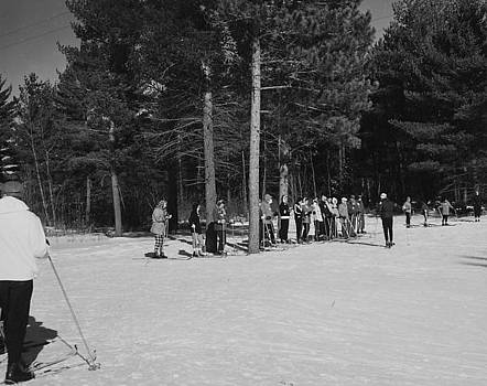 Chicago and North Western Historical Society - Ski Lodge Trip  - 1959