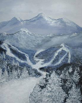 Ski Resort by Dick Bourgault