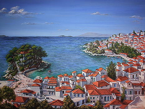 Yvonne Ayoub - Skiathos Harbour