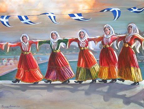Yvonne Ayoub - Skiathos Maidens