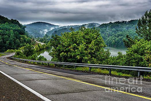 Skin Creek Road Cloudy Day by Thomas R Fletcher