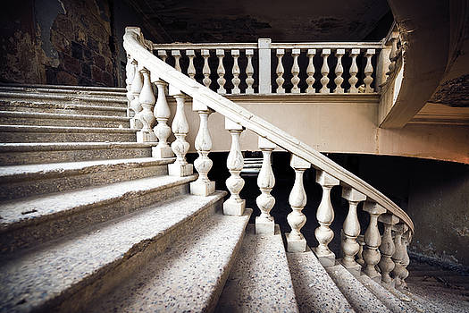 Skirt Stair by Svetlana Sewell
