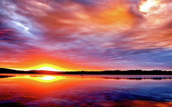 Skittle Sunset by Ryan Tarrow