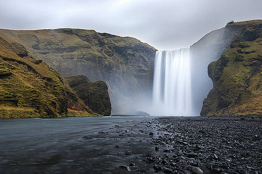 Skogafoss Iceland  by Tom Cuccio