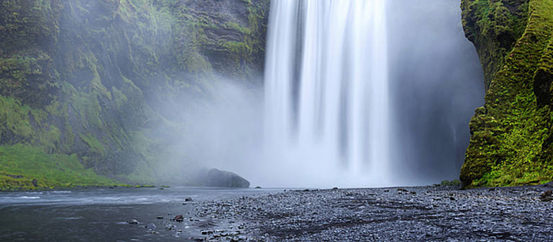 Skogafoss Mist by Brad Scott