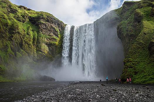 Venetia Featherstone-Witty - Skogafoss Waterfall, Iceland