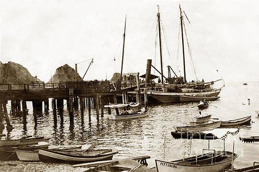 California Views Mr Pat Hathaway Archives - skow Brothers Glass Bottom Boat s Avalon Bay circa 1903
