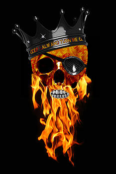 Skread on Fire by JanRafael