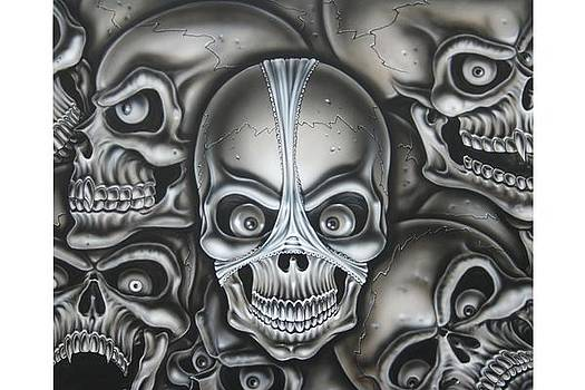 Skull and Panties by Terry Stephens