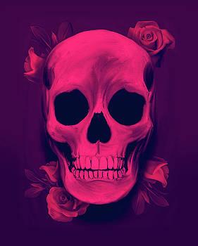 Skull and Roses by Felipe Navega