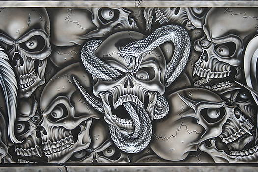 Skull and Snake by Terry Stephens