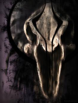 Skull Fetish Face Black by Kalynn Kallweit