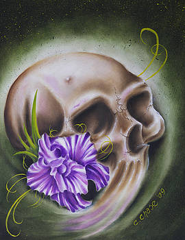 Skull-N-Flower by Chad Chase