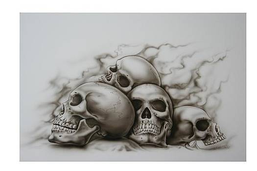 Skull Pile by Terry Stephens