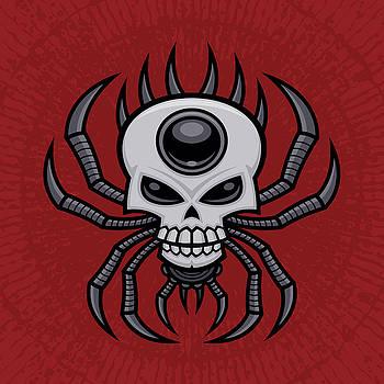Skull Spider by John Schwegel