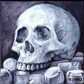 Skull Study II by Noelle Magana
