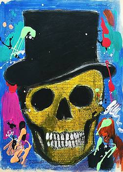 Skull With Tophat by Venus