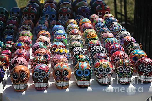 Chuck Kuhn - Skulls