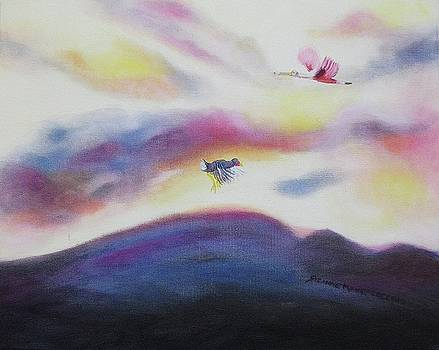 Suzanne  Marie Leclair - Sky and Birds
