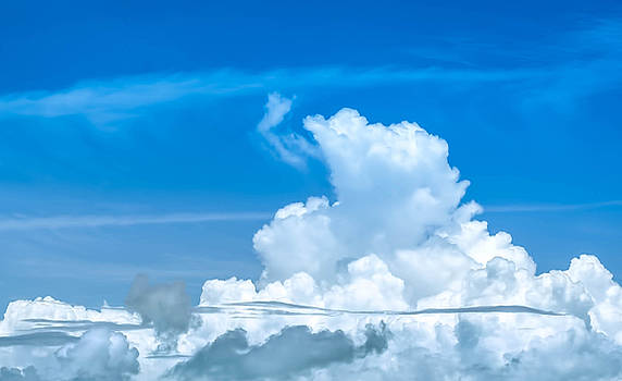 Sky and Clouds by Kerry Hauser