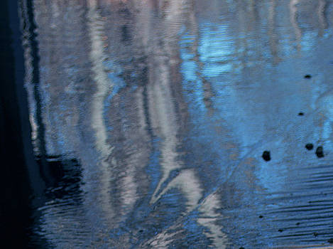 Sky Blue Reflection by Brenda Leitow