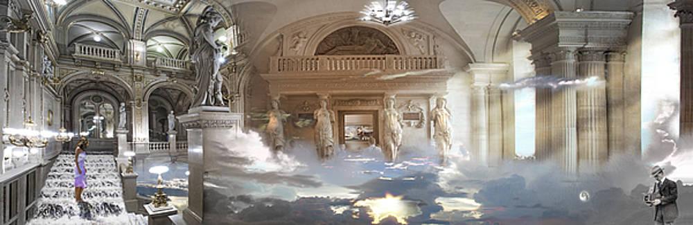 Sky Downstairs by Loren Salazar
