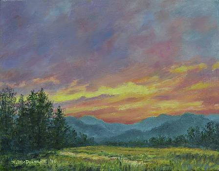 Sky Glow # 2 by Kathleen McDermott