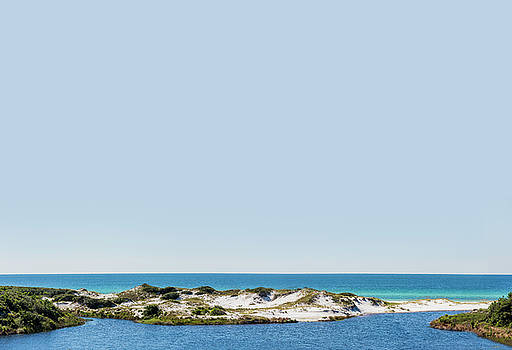 Sky Gulf Dunes Lake by Kurt Lischka