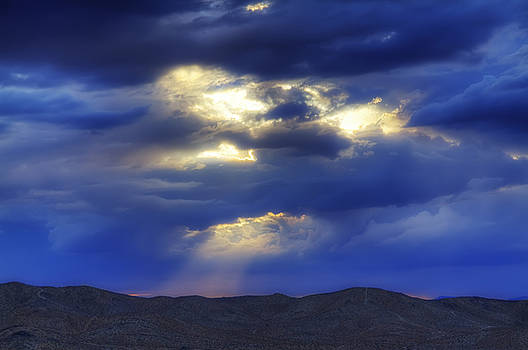 Sky Is A Glow by Mike Hill