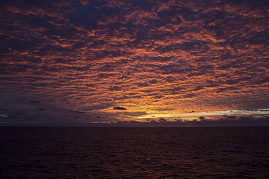 Sky on Fire by David Valencia