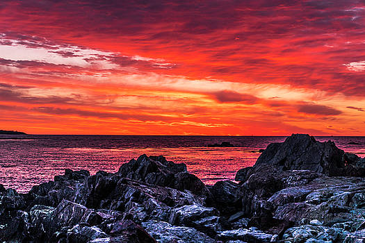 Sky On Fire by Devin LaBrie