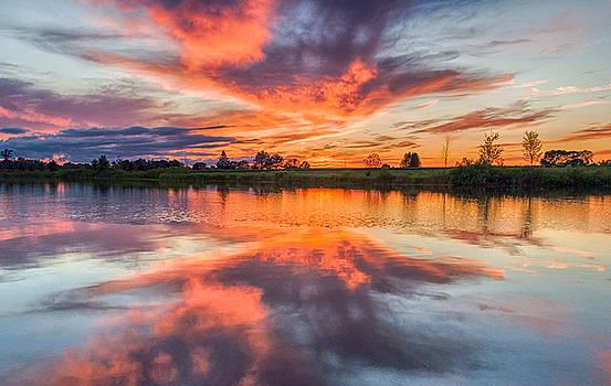 Sky on Fire  by Garvin Hunter