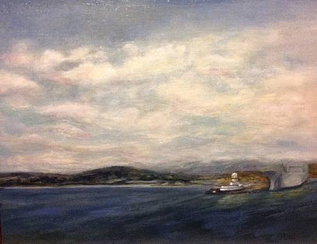 The Port of Everett from Howarth Park by J Reynolds Dail