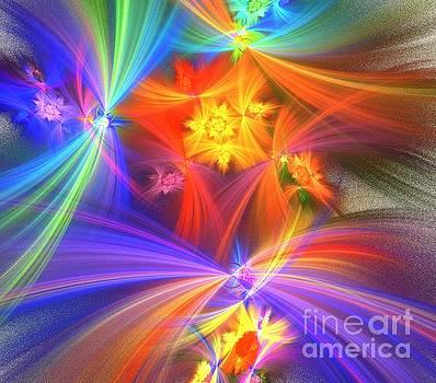 Sky Rainbow Wishes by Kim Sy Ok