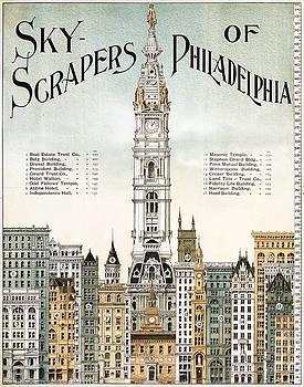 Sky-scrapers of Philadelphia, 1898 by Vintage Printery