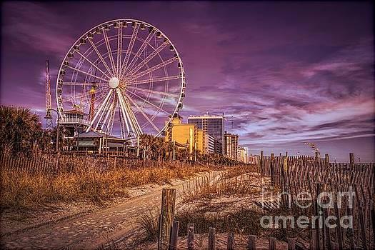 Paulette Thomas - Sky Wheel in Myrtle Beach