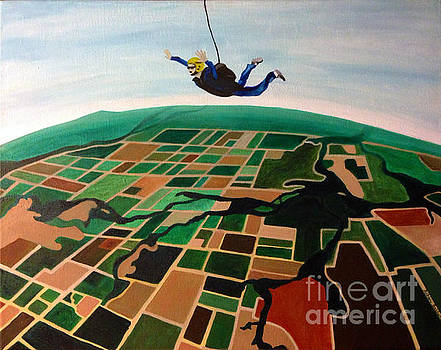 Skydiving Bob Baldwin by Ashley Baldwin