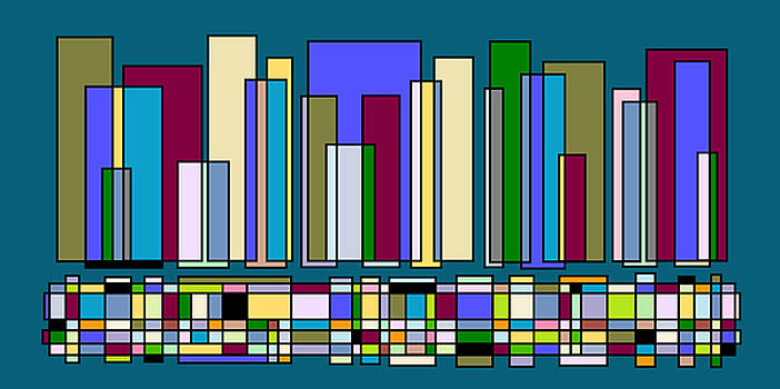 Jazz Skyline 105 by Cynthia Friedlob