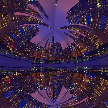 Skyline Art by Collette Rogers
