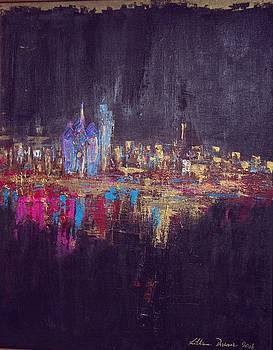 Skyline Black by Lilliana Didovic