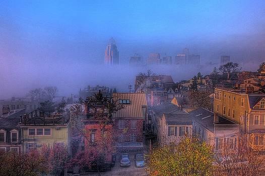Skyline Cincinnati by Wolfgang Kreutzer