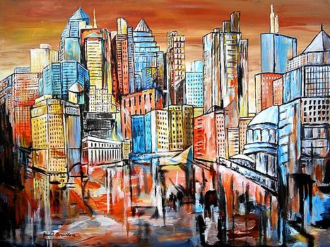 Skyline by Eberhard Schmidt-Dranske