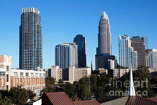 Bill Cobb - Skyline of Charlotte North Carolina