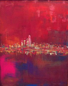 Skyline Red by Lilliana Didovic