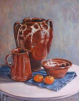 Yvonne Ayoub - Skyros Pots with Mandarins