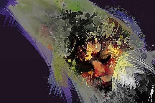 Slapend  Sleeping by Arie Van Garderen