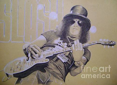 Slash Guns N' Roses by Oleg Kozelskiy
