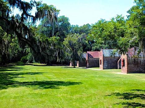 Slave Houses - Boone Hall Plantation by Joseph Hendrix