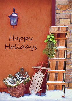 Nikolyn McDonald - Sled and Toboggan - Happy Holidays